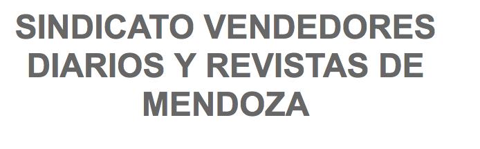 SINDICATO VENDEDORES DIARIOS Y REVISTAS DE MENDOZA